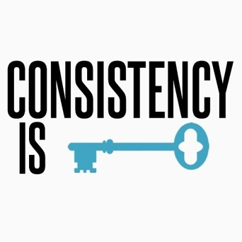 Consistency Is The Key - Fitness